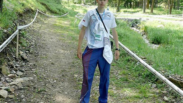 Jiří Voják na Mistrovství Evropy v běhu do vrchu v Bulharsku.