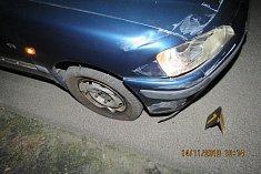 Poškodila si vozidlo a poničila značku. Celková škoda byla vyčíslena na 15 tisíc korun.
