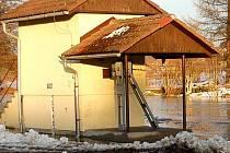 Limnigrafická stanice ve Staňkově.