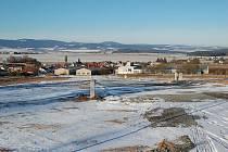 Nová zóna v Luženičkách nabízí sedmnáct stavebních parcel s krásným výhledem.