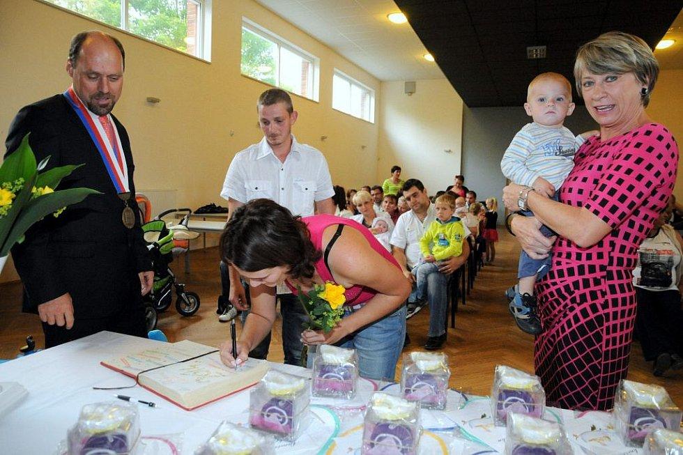 Vítání občánků v Kolovči