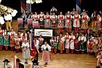 Slavnostní zahájení loňského Pošumavského věnečku.
