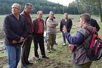 Pracovní setkání na Zelenově.