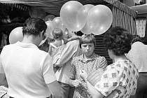 Chodské slavnosti 1981.