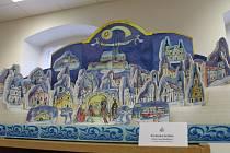 Betlémy jsou papírové i poskládané z figurek, obsahují i tramvaj nebo krokodýla.