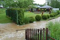 Velká voda v Havlovicích.