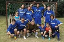 VÍTĚZSTVÍ NA MEMORIÁLU ING. JOSEFA BĚHOUNKA v Novém Kramolíně letos obhájili hráči RSC Domažlice.