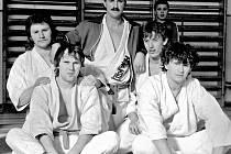 Družstvo mužů – Krajský přebor 3. 11. 1986 v Domažlicích – 3. místo.