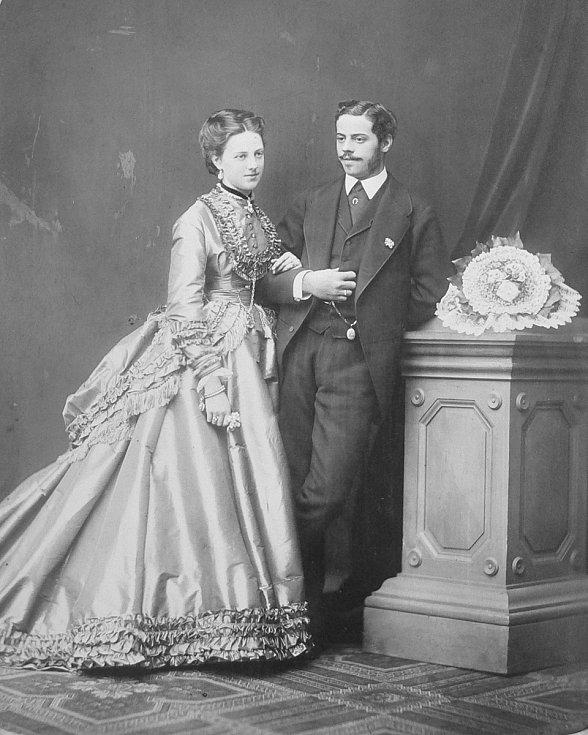 Manželé Josefína a Karel Jan Trauttmansdorff.  Foto: archiv výstavy