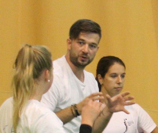 Trenér volejbalistek VK Domažlice Stanislav Svoboda.