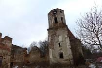 KOSTEL SVATÉHO MIKULÁŠE V ŠITBOŘI. Přesněji to, co z památky do dnešních dnů zbylo.