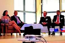 DOPRAVNÍ TRIALOG EVROPSKÉHO REGIONU DUNAJ – VLTAVA VE FURTHU IM WALD. O projektech v oblasti dopravy debatovali zástupci Česka, Bavorska i SRN a Rakouska.