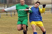 Fotbalisté ZD Meclov podlehli ve šlágru kola Tatranu Chodov.