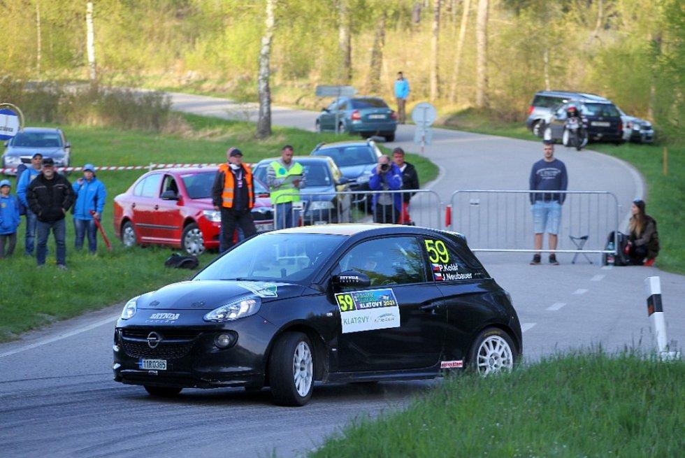 Pavel Kolář – Jiří Neubauer (Opel Adam Cup): Těsně před startem Šumavy byl domažlický závodník nucen změnit vůz za jiný. V cíli z toho nakonec byla solidní 38. příčka celkově a 10. ve třídě 6.
