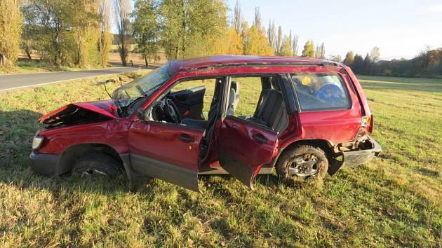 Nehoda mezi Pocinovicemi a Chodskou Lhotou.