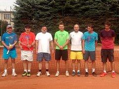 TENISOVÝ TURNAJ NA ŠUMAVĚ. Tenisový oddíl SK Šumava Domažlice pořádal tenisový turnaj jednotlivců, jehož výsledky se započítávají do seriálu Dotiko Tenis Tour.