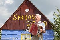 Z Mezinárodního setkání harmonikářů ve Spáňově. To 17. bude vůbec poprvé v sále hospůdky a také v podzimním termínu 26. října.