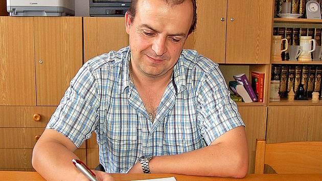 Starosta Staňkova Alexandr Horák.