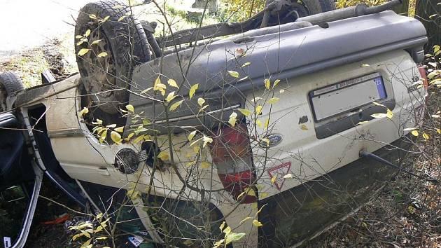 Nehoda u Osvračína.