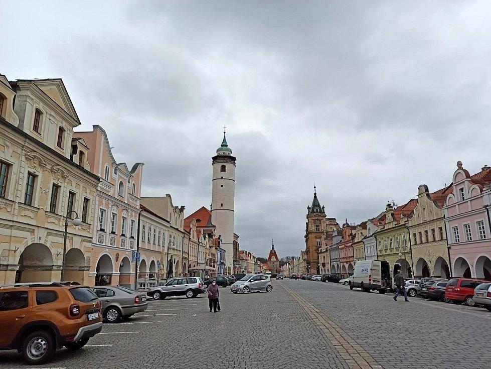 Historické jádro Domažlic.