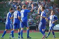Jiskra Domažlice podlehla ve 2. kole Ondrášovka Cupu Spartě Praha 7:1.