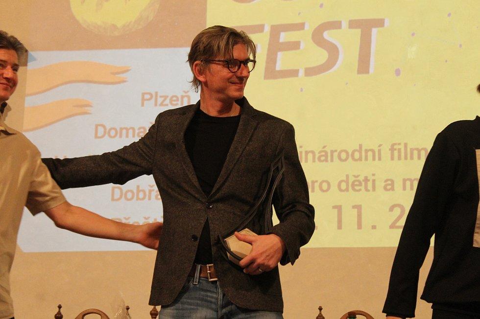 Jiří Strach v Horšovském Týně obdržel Zlatou rafičku.