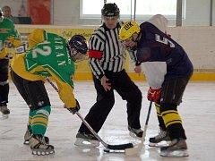 V regionálním přeboru hokejových týmů z Domažlicka a Tachovska na sebe narazili hokejisté Tatranu Přimda a Sokola Díly.