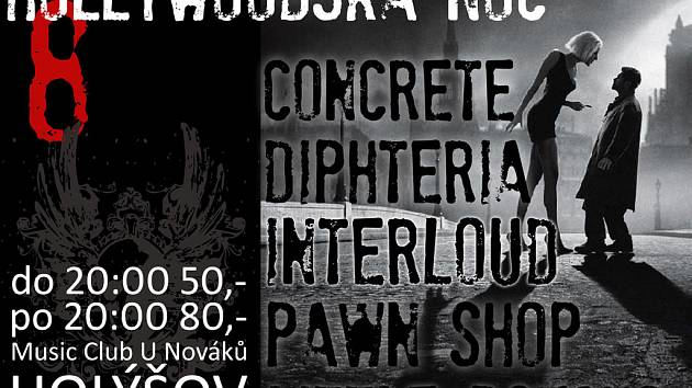 Pět skupin zahraje U Nováků v Holýšově.