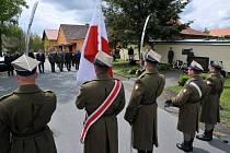 Vzpomínková akce se uskutečnila v neděli 5. května.