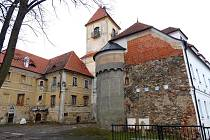 Hrad a zámek Poběžovice.
