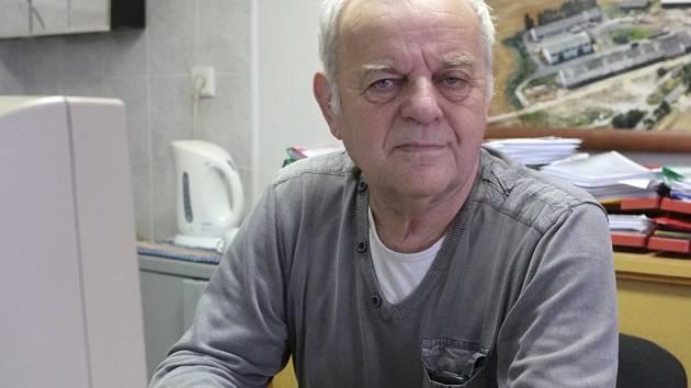 Starosta Čermné Jan Šperl.