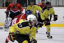 Z utkání hokejistů Panthers Stod a HC HP Sršni Domažlice.