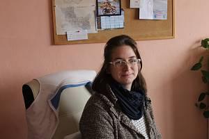 Karolína Olejníková z Člověka v tísni v Domažlicích. S Karlem Chalupou spolupracovala na jeho případu od podzimu 2016.
