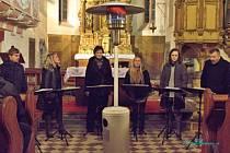 Singtet zazpíval v Poběžovicích.