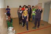 Ze Zimního setkání mladých hasičů ve Staňkově