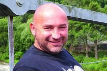 Fotbalový rozhodčí František Macháček.