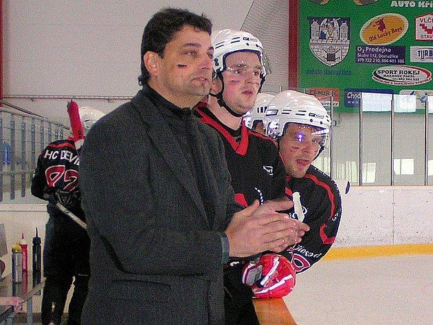 Z finále Domažlické NHL mezi AHC Devils a Old Lucky Boys.