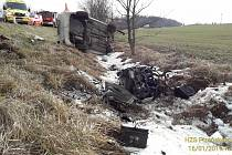 Nehoda u Havlovic.