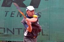 Petr Bufka - hrající kapitán tenisové Jiskry Domažlice A.