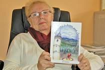 JANA PAVLÍKOVÁ napsala knihu Pohádky z kraje pod Čerchovem na popud své nejmladší vnučky.