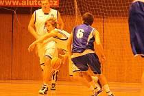 Druhé kolo Českého poháru v basketbalu: Jiskra Domažlice x Sokol Vyšehrad