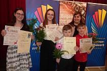 Mladí akordeonisté se zúčastnili Mezinárodní akordeonové soutěže