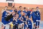 Mladí basketbalisté Jiskry Domažlice U14 hrají v sobotu i v neděli na domácí palubovce.