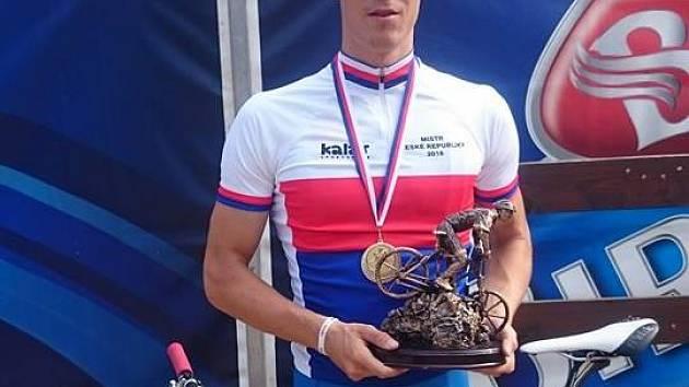 SPRINT NA MISTROVSTVÍ ČR V BEDŘICHOVĚ v kategorii mužů vyhrál Luděk Šeller z Chodova na Domažlicku.