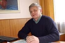 MILOŠ HAMMER. Stojí od 1. 1. 2009 v čele představenstva Agrimy, s draženovským družstvem  však ´žije´ už od roku 1982.