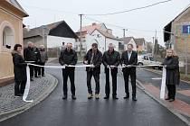 Otevření nové silnice v Draženově.