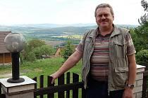 Vlastimil Anderle, starosta obce Díly. Obec s necelými čtyřmi stovkami obyvatel má od nedávna dva místostarosty jako jedenáctitisícové Domažlice.