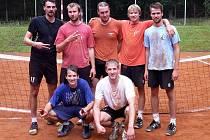 Nahoře zleva: Milan Škorvánek, Milan Roman, Martin Kiesenbauer, Filip Kupilík, David Gabriel. Dole: Ondřej Kupilík, Jan Giebl.