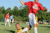 Z přípravného utkání FC Dynamo Horšovský Týn a FK Holýšov.