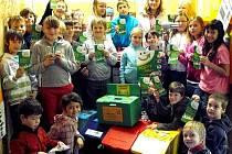 Žáci všerubské základní školy.